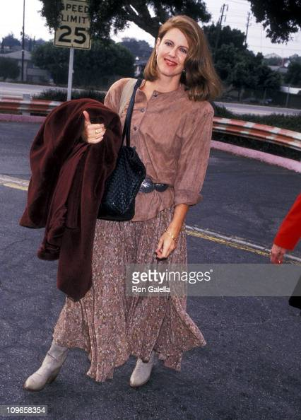 Pam Dawber during Pam Dawber Sighting at Los Angeles International Airport October 25 1992 at LAX in Los Angeles California United States