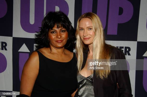 Pam Grier and Kelly Lynch during 3rd Annual Power Up Premiere Gala Arrivals And Inside at Regent Beverly Wilshire in Beverly Hills California United...