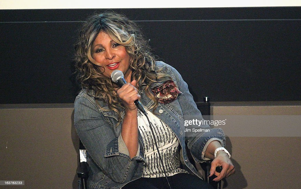 Pam Grier attends 'Foxy The Complete Pam Grier' Film Series at Walter Reade Theater on March 15 2013 in New York City