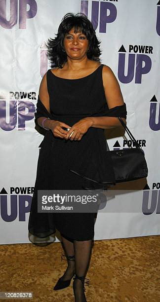 Pam Grier of 'LWord' during 3rd Annual POWER UP Premiere Gala at The Regent Beverly Wilshire Hotel in Beverly Hills California United States