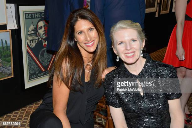 Pam Hart and Pamela Frasch attend The Turtle Conservancy's 4th Annual Turtle Ball at The Bowery Hotel on April 17 2017 in New York City