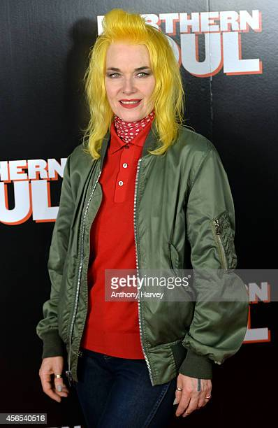 Pam Hogg attends the UK Gala screening of 'Northern Soul' at Curzon Soho on October 2 2014 in London England