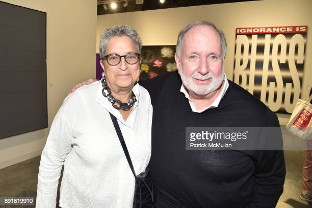 Pam Lehman and Arnold Lehman attend Art Basel Miami Beach Private Day at Miami Beach Convention Center on December 6 2017 in Miami Beach Florida