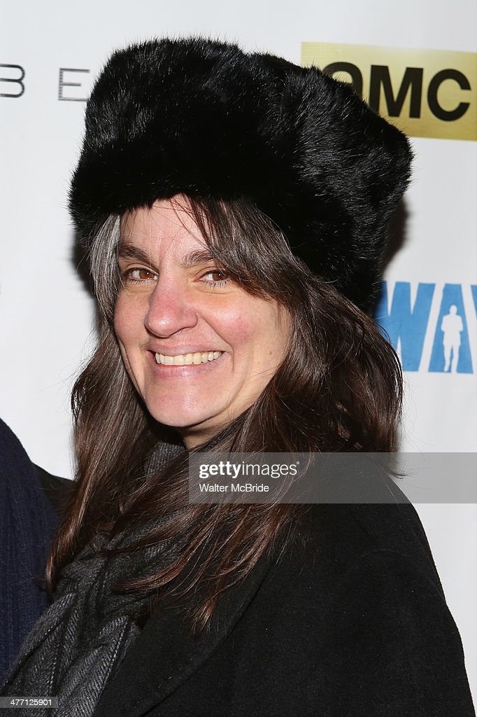 Pam MacKinnon attends 'All The Way' opening night at Neil Simon Theatre on March 6, 2014 in New York City.