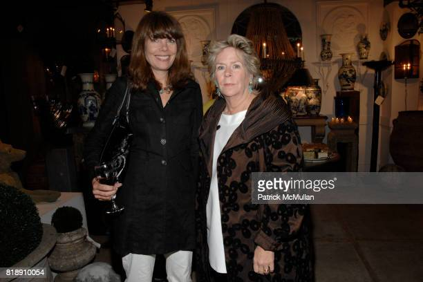 Pam Taylor and Bunny Williams attend Book Party for BOBBY MCALPINE'S 'THE HOME WITHIN US' from RIZZOLI at Treillage on May 18th 2010 in New York City