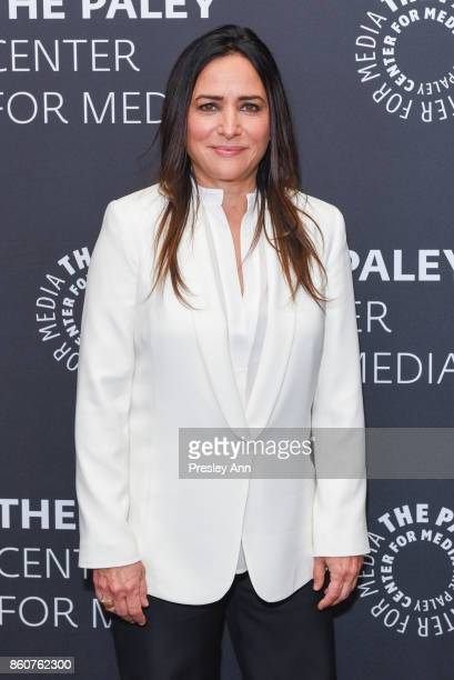 Pamela Adlon attends Paley Honors in Hollywood A Gala Celebrating Women in Television at Regent Beverly Wilshire Hotel on October 12 2017 in Beverly...