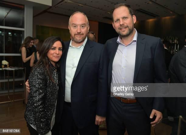 Pamela Adlon Louis CK and FX president of original programming Nick Grad attend FX Networks celebration of their Emmy nominees in partnership with...