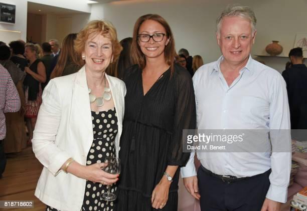 Pamela Alexander Caroline Rush and Ben Evans attend the Mayor of London's Summer Culture Reception on July 18 2017 in London England