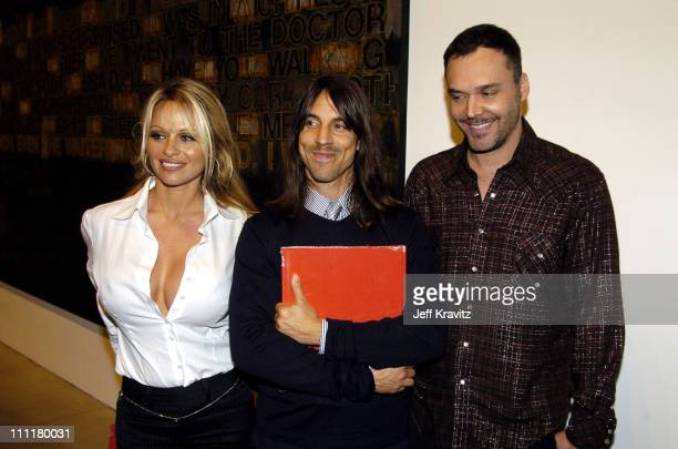 Pamela Anderson Anthony Kiedis and David LaChapelle