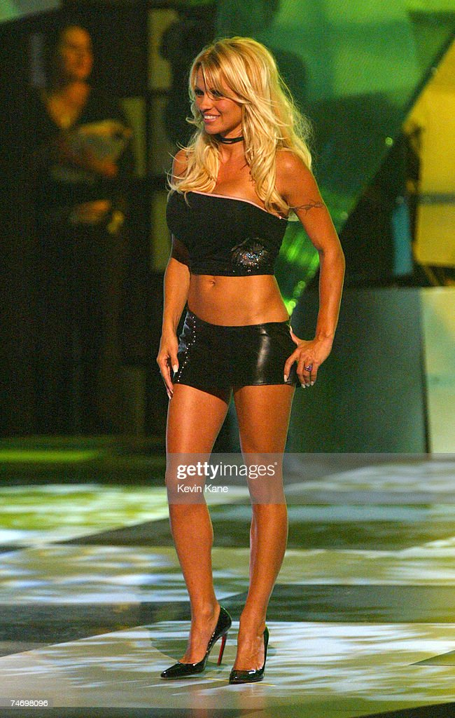 Pamela Anderson at the 2003 MTV Video Music Awards at the Radio City Music Hall in New York City New York