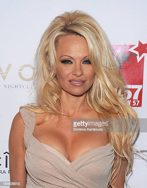 Pamela Anderson attends A Night Of New York Class at The Edison Ballroom on October 23 2012 in New York City