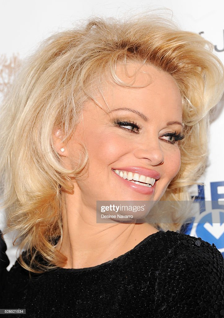 <a gi-track='captionPersonalityLinkClicked' href=/galleries/search?phrase=Pamela+Anderson&family=editorial&specificpeople=171759 ng-click='$event.stopPropagation()'>Pamela Anderson</a> attends the 4th Annual Champions Of Jewish Values International Awards Gala at Marriott Marquis Broadway Ballroom on May 5, 2016 in New York City.