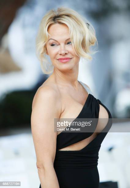 Pamela Anderson attends the Amber Lounge Fashion Monaco 2017 at Le Meridien Beach Plaza Hotel on May 26 2017 in Monaco Monaco