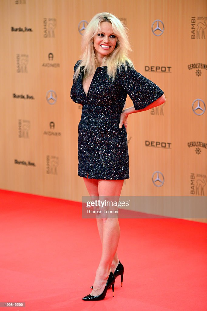 MADELEINE At Bambi Awards 2015 - Red Carpet Arrivals