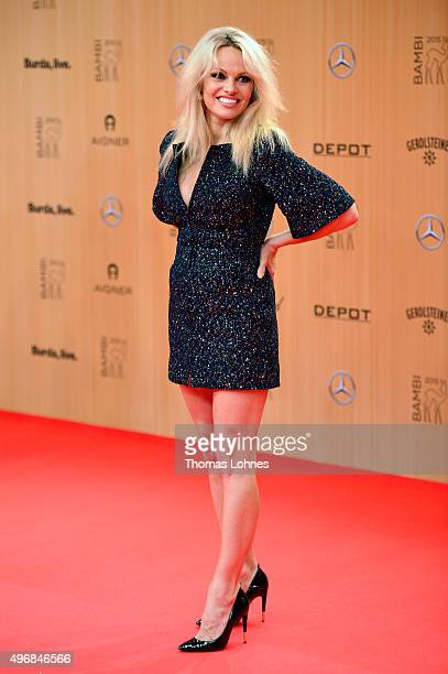 Pamela Anderson attends the Bambi Awards 2015 at Stage Theater on November 12 2015 in Berlin Germany