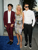 Pamela Anderson attends The Hidden Heroes Gala presented by Mercy For Animals at Unici Casa on August 29 2015 in Culver City California