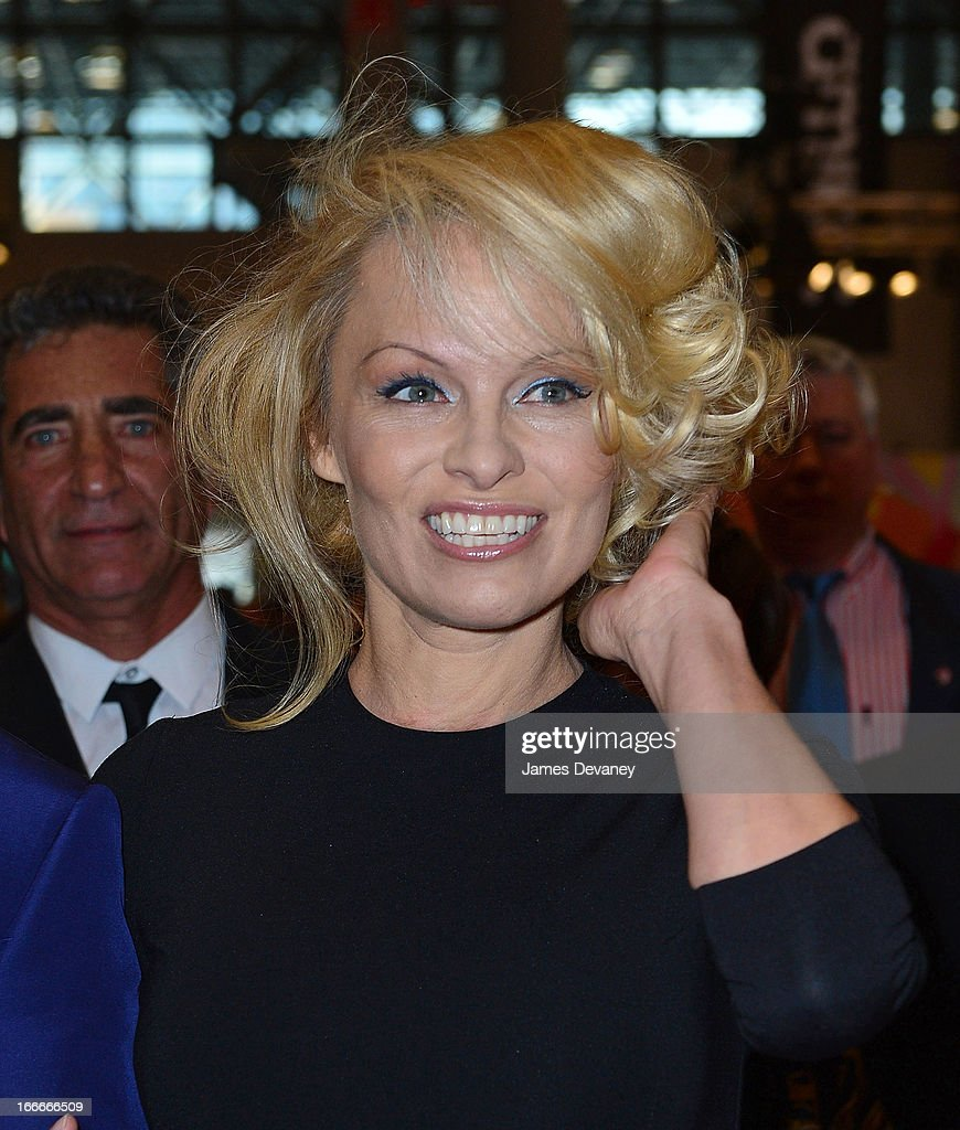 <a gi-track='captionPersonalityLinkClicked' href=/galleries/search?phrase=Pamela+Anderson&family=editorial&specificpeople=171759 ng-click='$event.stopPropagation()'>Pamela Anderson</a> attends the International Beauty Show at the Javits Center on April 15, 2013 in New York City.