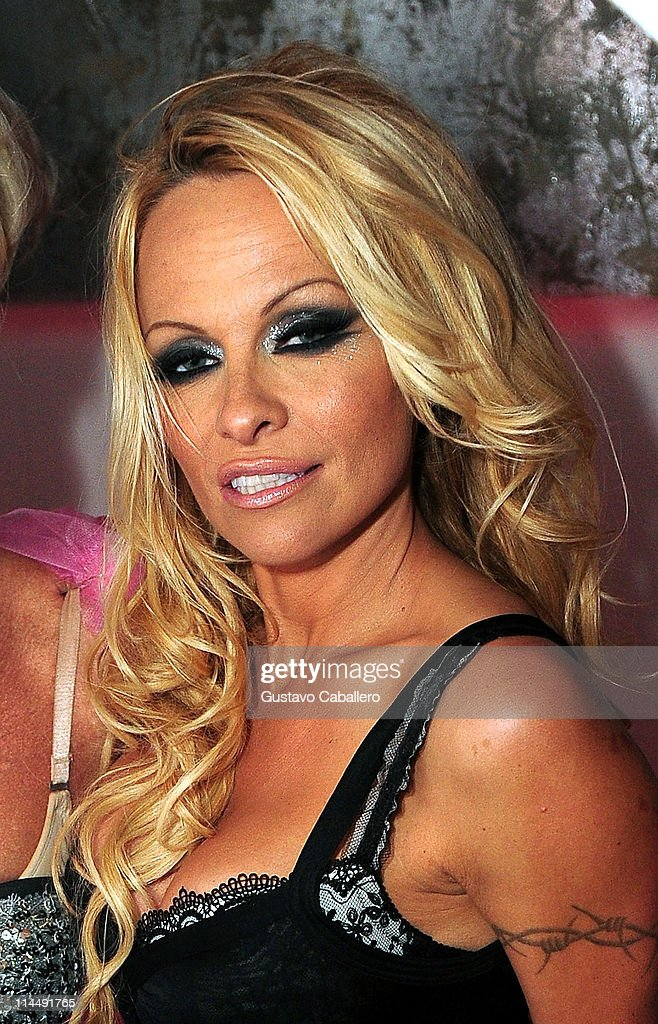 Pamela Anderson Attends The Third Annual Silver Party At Living Room  Nightclub On May 21, Part 38