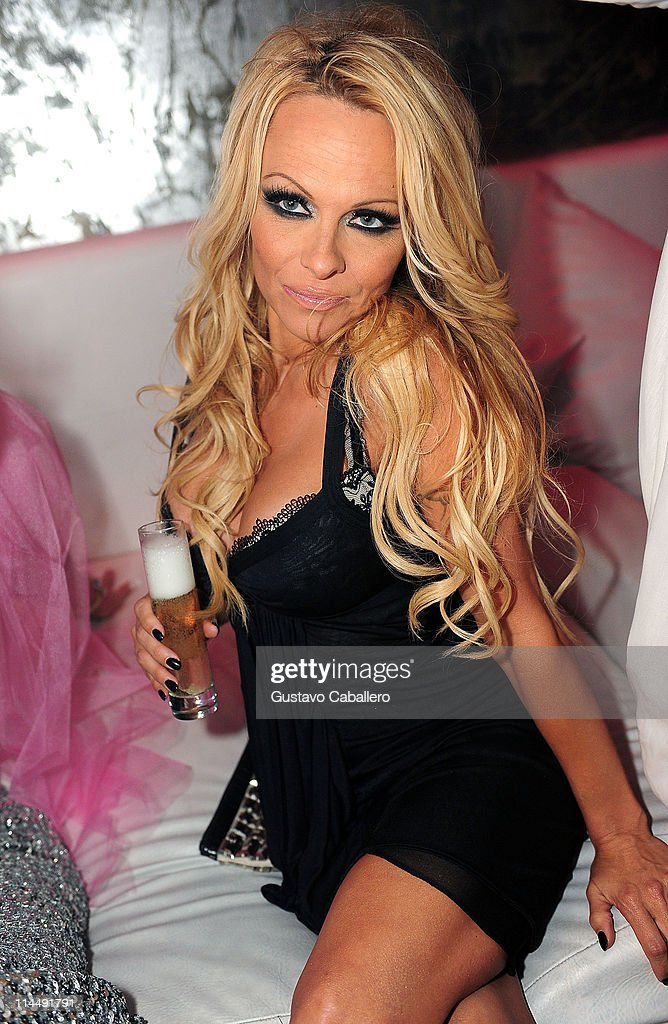 Pamela Anderson Attends The Third Annual Silver Party At Living Room  Nightclub On May 21, Part 50