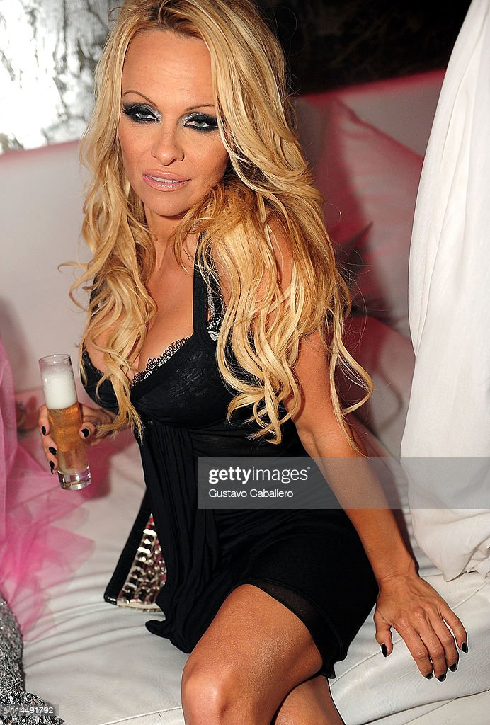 Pamela Anderson Attends The Third Annual Silver Party At Living Room  Nightclub On May 21, Part 40