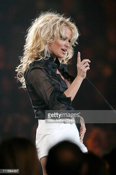 Pamela Anderson during 2006 JUNO Awards Show at Halifax Metro Centre in Halifax Nova Scotia Canada