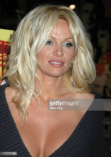 Pamela Anderson during Pamela Anderson InStore Appearance at Virgin Megastore in Hollywood November 16 2006 at Virgin Megastore in Hollywood...