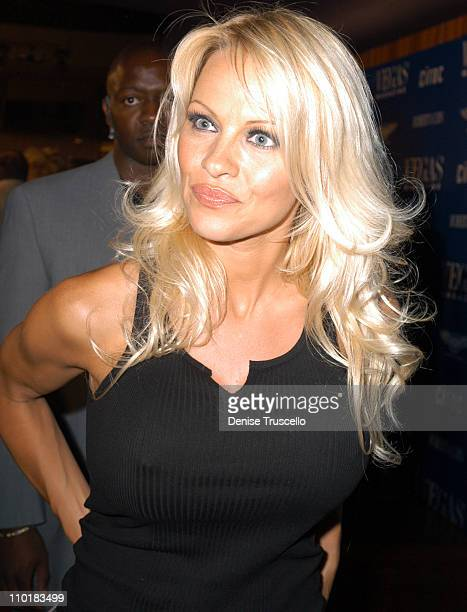 Pamela Anderson during Vegas Magazine Launch Party at Rain at The Palms Casino Resort in Las Vegas Nevada United States