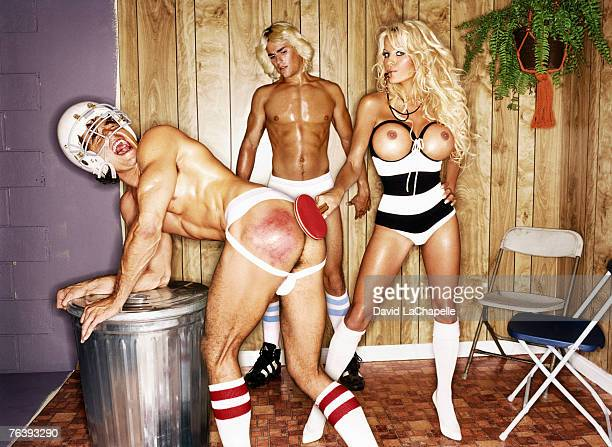 Pamela Anderson Pamela Anderson by David LaChapelle Pamela Anderson GQ Germany January 1 2006