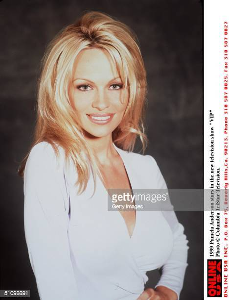 Pamela Anderson Stars In The Television Show 'Vip'