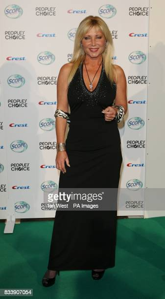 Pamela Bach Hasselhoff arrives at the 34th People's Choice Awards nominations party at the Area Nightclub in Los Angeles