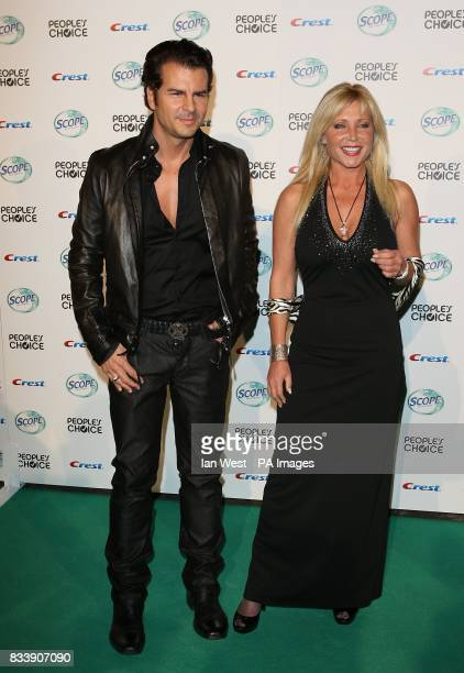 Pamela Bach Hasselhoff Vincent De Paul at the 34th People's Choice Awards nominations party at the Area Nightclub in Los Angeles