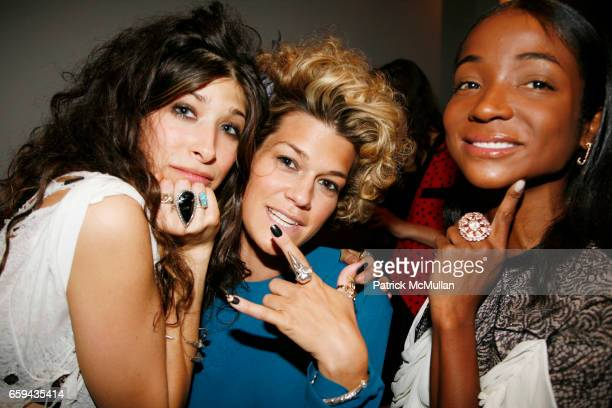 Pamela Love Jenne Lombardo and Genevieve Jones attend PAMELA LOVE Jewelry Collection at Milk Studios on September 16 2009 in New York City