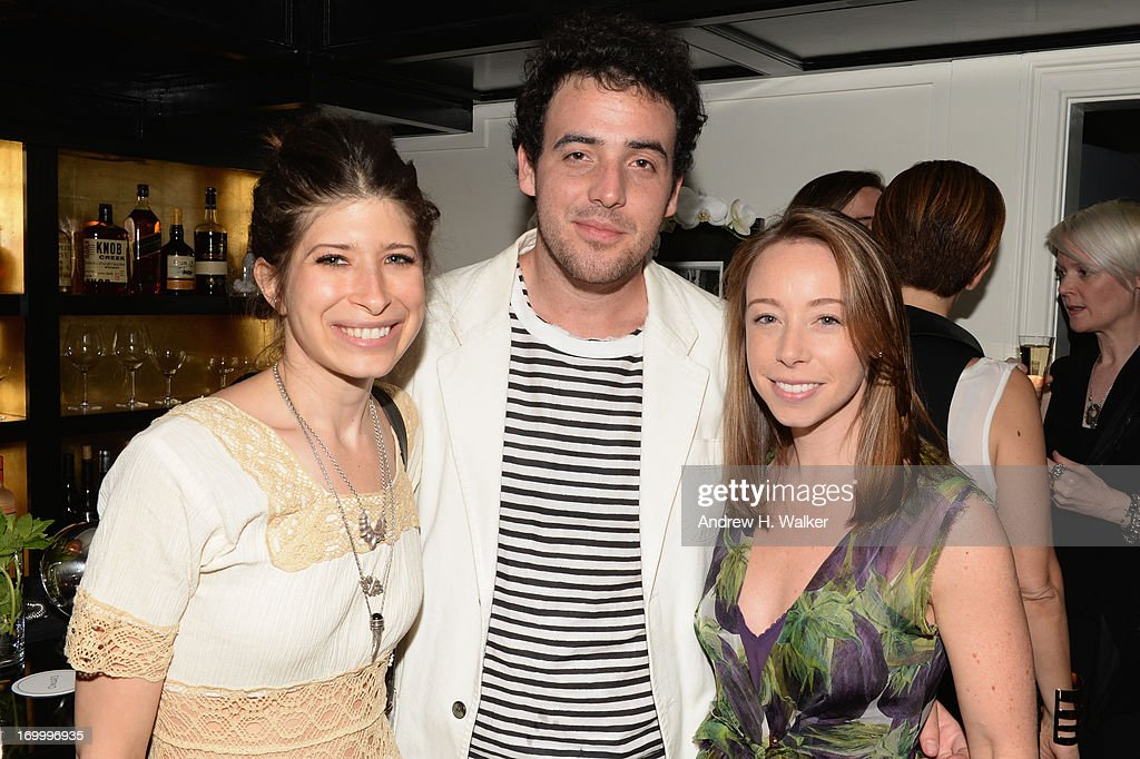 Pamela Love, Logan Horne, and Rickie De Sole attend the Casadei dinner at Omar's, hosted by Julia Restoin Roitfeld and Cesare Casadei celebrating Resort 2014 at on June 5, 2013 in New York City