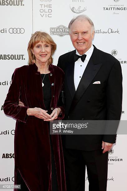 Pamela Miles and Tim PigottSmith arrive at The Old Vic Theatre for a gala celebration in honour of Kevin Spacey as the artistic director's tenure...