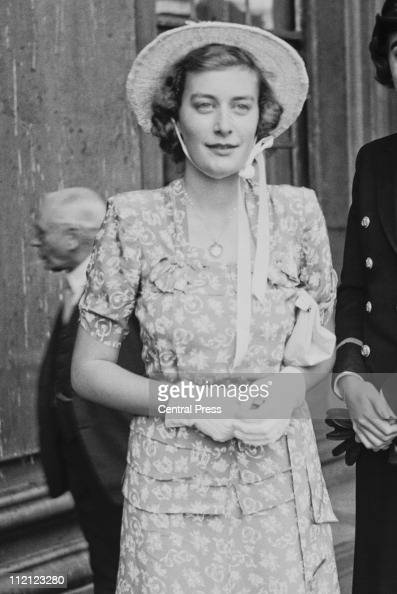 Pamela Mountbatten Stock Photos And Pictures Getty Images