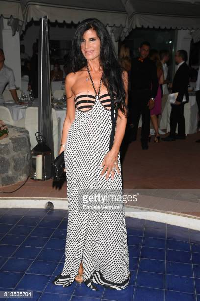 Pamela Prati attends 2017 Ischia Global Film Music Fest on July 12 2017 in Ischia Italy