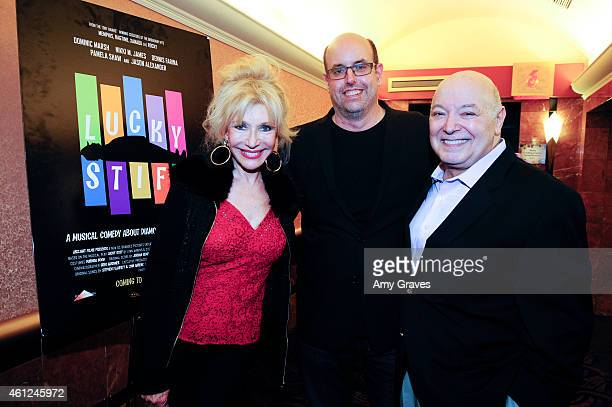 Pamela Shaw Christopher Ashley and Don Amendolia attend the Screening of 'Lucky Stiff' during the 26th Annual Palm Springs International Film...
