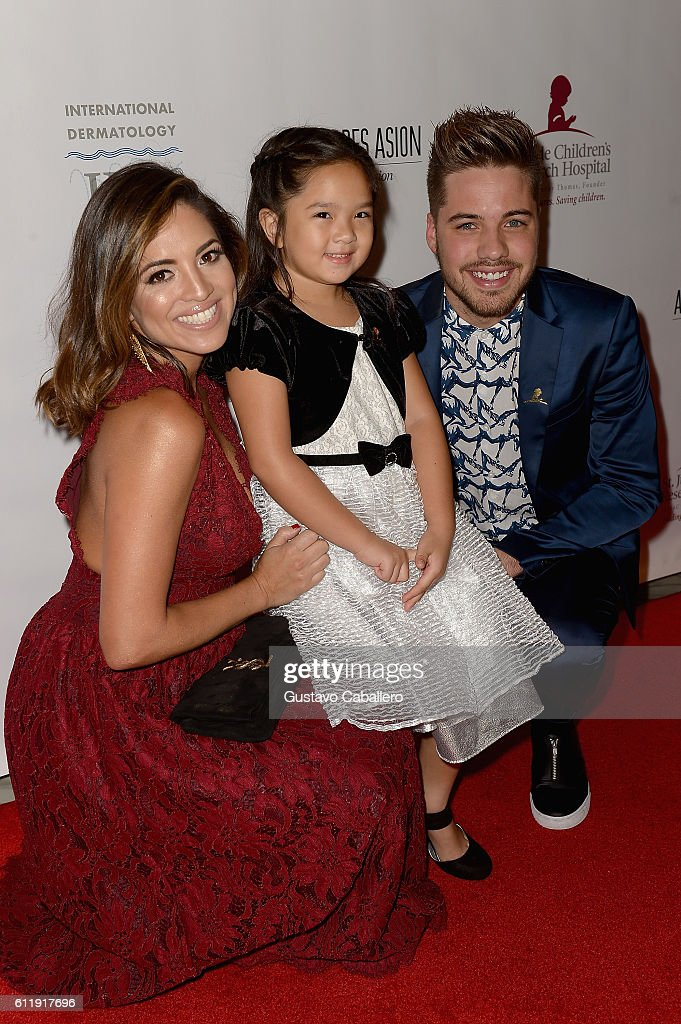 Pamela Silva Conde and William Valdes attends the 9th Annual International Dermatology 'It's All About the Kids' Benefit at JW Marriott Marquis on October 1, 2016 in Miami, Florida.