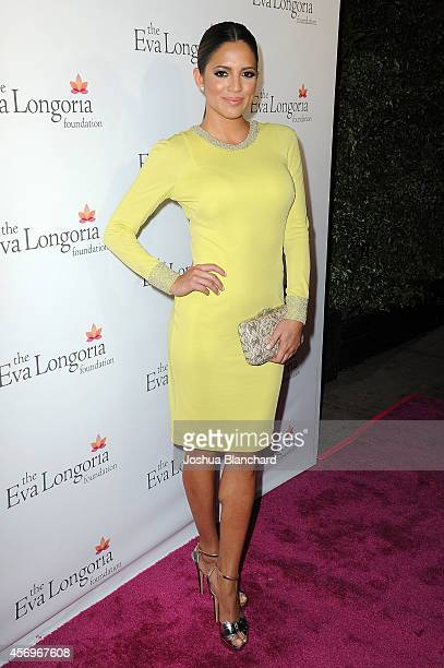 Pamela Silva Conde arrives at the Eva Longoria Foundation Dinner at Beso on October 9 2014 in Hollywood California
