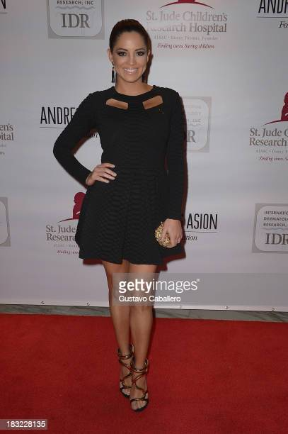Pamela Silva Conde attends St Jude 'It's All About The Kids' Signature Event at JW Marriott Marquis on October 5 2013 in Miami Florida