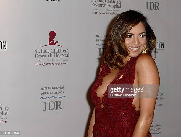 Pamela Silva Conde attends the 9th Annual International Dermatology 'It's All About the Kids' Benefit at JW Marriott Marquis on October 1 2016 in...