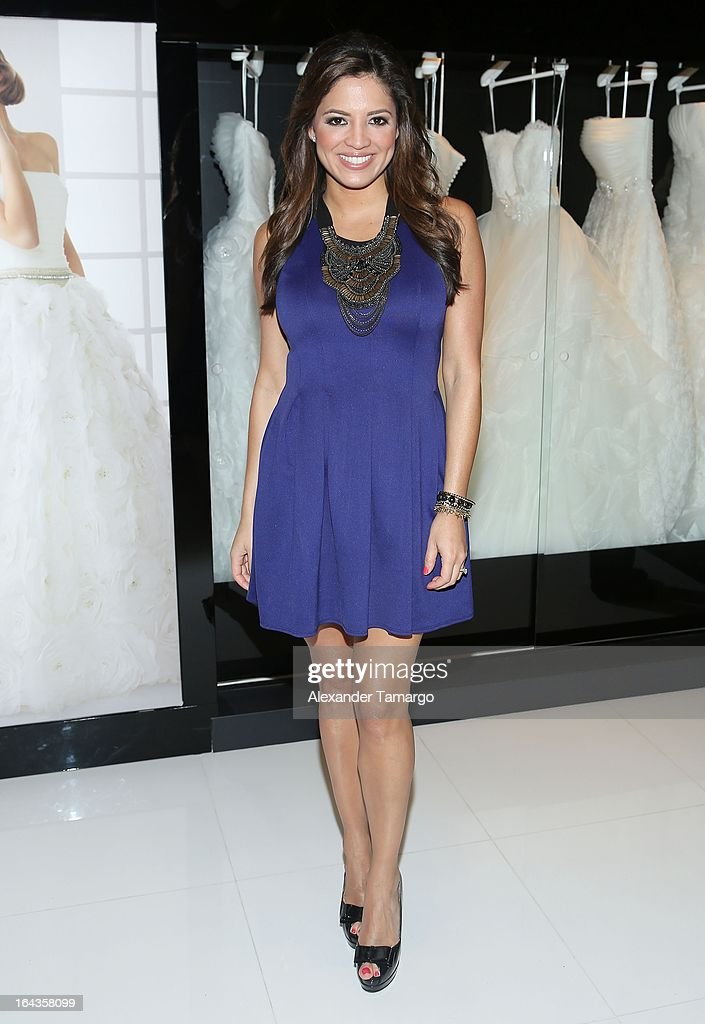 Pamela Silva Conde attends the grand opening of Rosa Clara store on March 22, 2013 in Coral Gables, Florida.