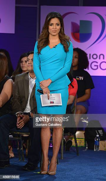 Pamela Silva Conde attends Univisions 4th Annual Education Week at Florida International University on October 7 2014 in Miami Florida