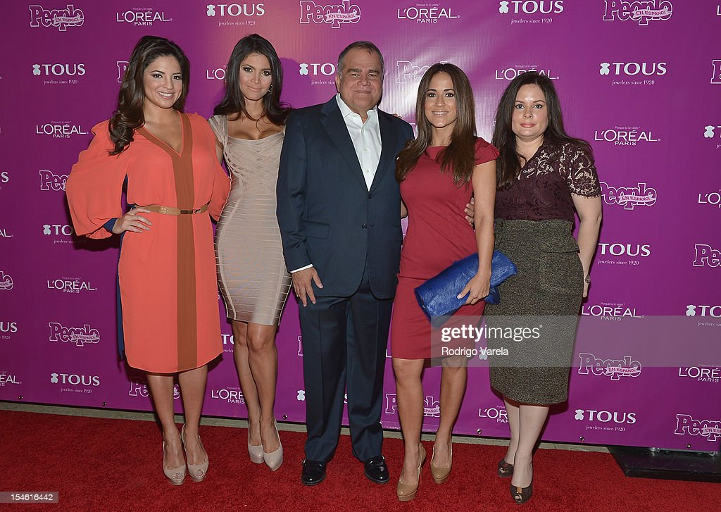 Pamela Silva Conde Chiquinquira Delgado Armando Correa Jackie Guerrido and Jessica Rodriguez attend People En Espanol 25 Most Powerful Women Luncheon...