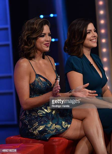 Pamela Silva Conde speaks onstage at Univision's 'Sabado Gigante' Finale at Univision Studios on September 19 2015 in Miami Florida