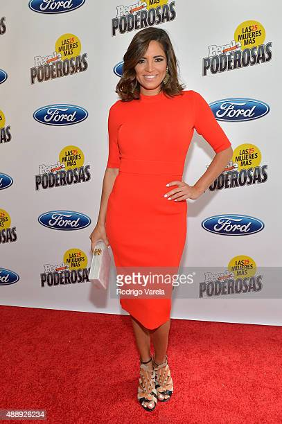 Pamela SilvaConde attends Las 25 Mujeres Mas Poderosas luncheon hosted by People En Espanol at Moore Elastika on September 18 2015 in Miami Florida