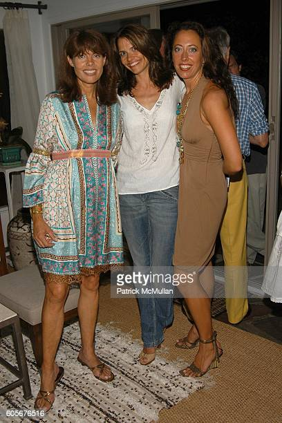 Pamela Taylor Alison Brown and Tatiana Platt attend Party to Celebrate the Upcoming Marriage of Pamela Taylor and Eames Yates Hosted by Tatiana and...