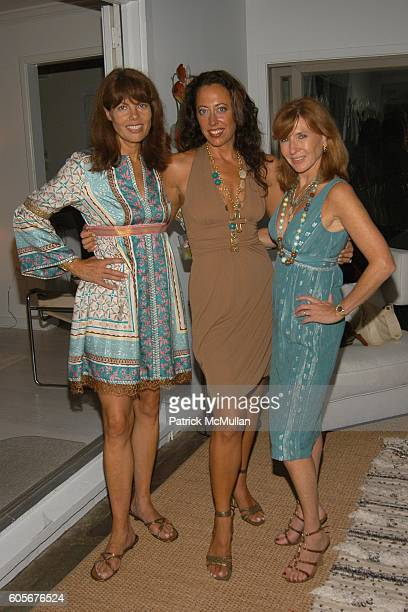 Pamela Taylor Tatiana Platt and Nicole Miller attend Party to Celebrate the Upcoming Marriage of Pamela Taylor and Eames Yates Hosted by Tatiana and...