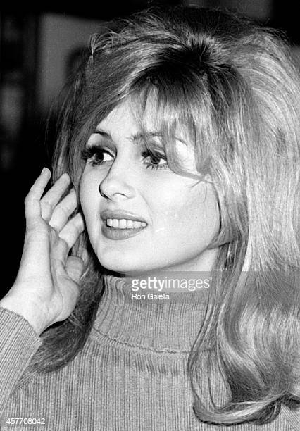 Pamela Tiffin attends Film Critics Awards on January 29 1967 at Sardi's Restaurant in New York City