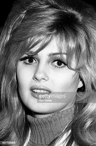 Pamela Tiffin attends Film Critics Awards on January 29 1967 at Sardi's Restaurant in New York City